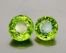 4.15Crt Peridot Natural Gemstones JI138