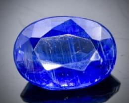 1.38 Crt Natural  Kyanite Faceted Gemstone.( AB 91)