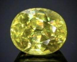 0.50 Crt Natural Sphene  Faceted Gemstone.( AB 91)