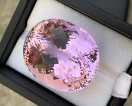 Purple Color Kunzite Flawless Gem 73 ct