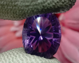Master Cut Amethyst Gemstone Cut by Master Cutter