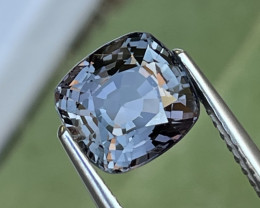2.57 Cts Eye Catching Grey Unheated Spinel Top Quality Burma