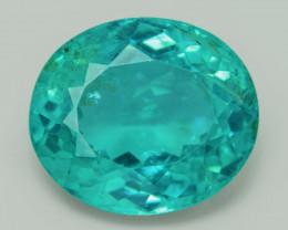 Greenish Blue Apatite 5.00 Cts Un Heated Natural Loose Gemstone