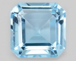Topaz 3.78 Cts Blue Natural Gemstone