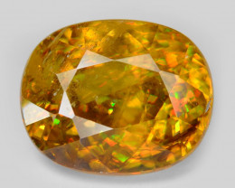 SPHENE 4.11 Cts EXCELLENT COLOR CHANGE NATURAL
