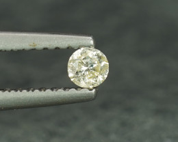 .10CT 2.9mm KLM Color 100$ Natural White Diamond
