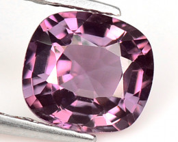 Burma Spinel 1.40 Cts Un Heated Very Rare Purple Pink Color Natural Gemston
