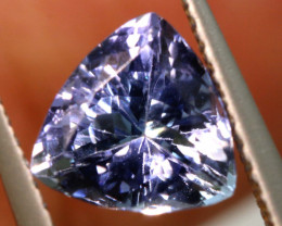 1.70 CTS  TANZANITE  FACETED  STONE   PG-3547