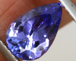 1.55 CTS  TANZANITE  FACETED  STONE   PG-3548