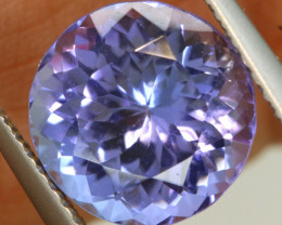 3.65 CTS  TANZANITE  FACETED  STONE   PG-3550