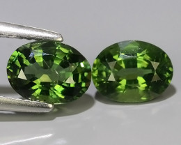 3.40 CTS EXQUISITE GREEN COLOR UNHEATED APATITE~OVAL EXCELLENT!