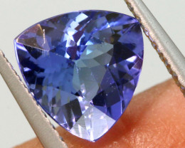 1.60 CTS  TANZANITE  FACETED  STONE   PG-3555