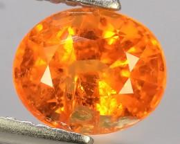 1.95 Cts Unheated Natural Orange Spessartite Garnet Namibia Gem!!