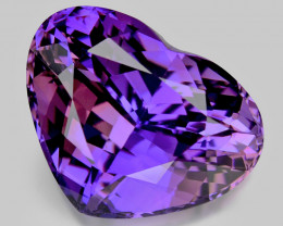 Tanzanite 7.55 Cts Unheated Rare AA+ Purple Pink Blue Color Natural Gemston