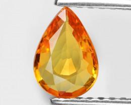 Sapphire 0.69 Cts Natural Fancy Orange Fire Loose Gemstone