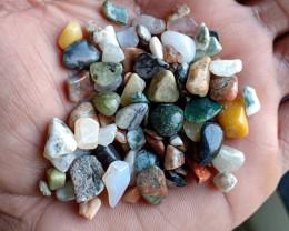 200 Ct mix lot of Natural Tumbled Gemstones VA4095
