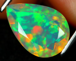 Welo Opal 1.88Ct Natural Ethiopian Flash Color Welo Opal A2501