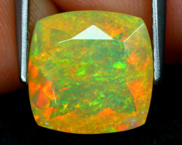 Welo Opal 2.48Ct Natural Ethiopian Flash Color Welo Opal A2502