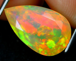 Welo Opal 2.38Ct Natural Ethiopian Flash Color Welo Opal A2503