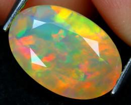 Welo Opal 2.32Ct Natural Ethiopian Flash Color Welo Opal A2505