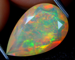 Welo Opal 2.12Ct Natural Ethiopian Flash Color Welo Opal A2509