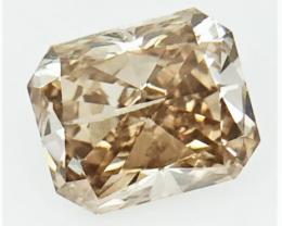 0.66 CTS , fancy Color Diamond , Fancy Cut Diamond