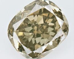 0.527 CTS , fancy Color Diamond , Fancy Cut Diamond