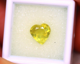 Yellow Sapphire 3.63Ct Siamese Yellow Sapphire ER509