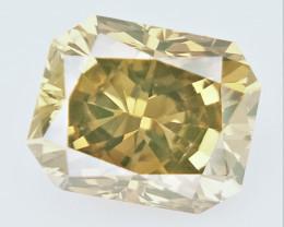 0.33 CTS , fancy Color Diamond , Fancy Cut Diamond