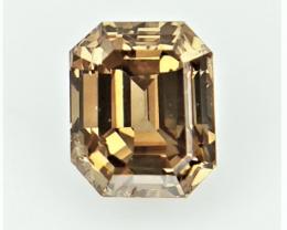0.38 CTS , fancy Color Diamond , Fancy Cut Diamond