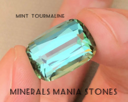 Mint Green Out Class Tourmaline From Afghanistan