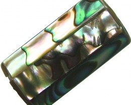 ABALONE BEAD DRILLED FROM AUSTRALIA 32.00 CTS [PF326]