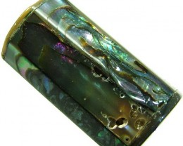 ABALONE BEAD DRILLED FROM AUSTRALIA 32.45 CTS [PF329]