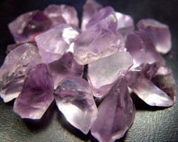 PINK AMETHYST [ROSE DE FRANCE] ROUGH 113.85 CTS  [F1547 ]