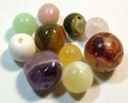 15.00 CTS  ASSORTED NATURAL BEADS (PARCEL) FNP1874 (NP-GR)
