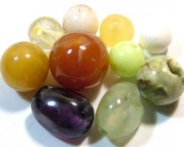 ASSORTED NATURAL BEADS (PARCEL)  16.80CTS FNP1869 (NP-GR)
