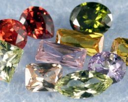 Designer Gems Clearing Sale 10 mix created Gems L15-M01