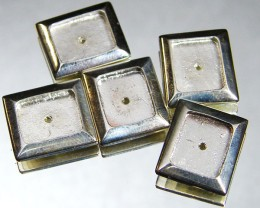 TRADE PARCEL 48 STERLING SILVER PIECES  AAT 810