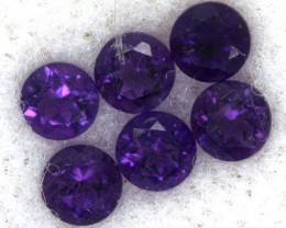 AMETHYST FACETED STONE (PARCEL) 0.84 CTS CG - 492