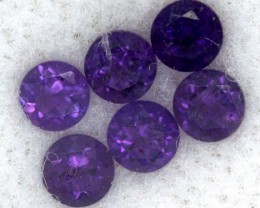 0.83 CTS AMETHYST FACETED STONE (PARCEL) CG - 491