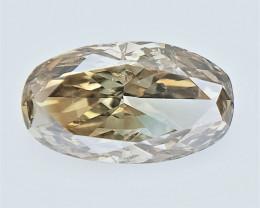0.27 CTS , fancy Color Diamond , Fancy Cut Diamond