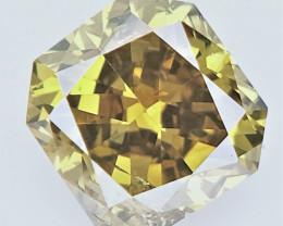 0.13 CTS , fancy Color Diamond , Fancy Cut Diamond