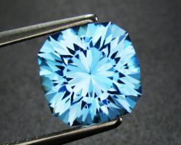 Blue Topaz 3.01 ct Custom Cut Topaz Gemstone