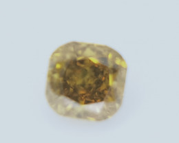 0.17 CTS , fancy Color Diamond , Fancy Cut Diamond