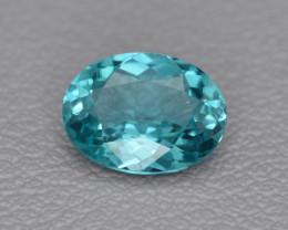 Natural Apatite 1.04 Cts  Excellent Paraiba Color Gemstone