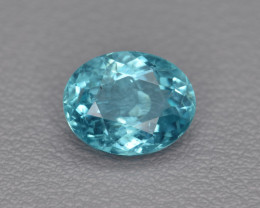 Natural Apatite 1.82 Cts  Excellent Paraiba Color Gemstone