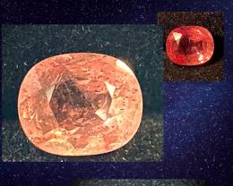 1.88ct Unheated Color-Change  Orange Sapphire