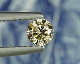 LARGE .26CT 4mm M/N COLOR BRILLIANT NATURAL DIAMOND $1NR!