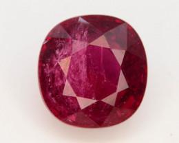 Top Color 3.75 Ct Natural Rubellite Tourmaline H.M
