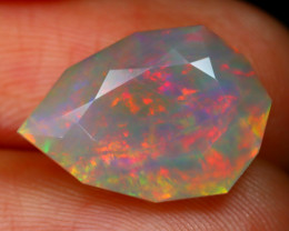 Welo Opal 3.65Ct Natural Ethiopian Play of Color Welo Opal C2601